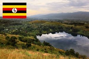 uganda visum am flughafen
