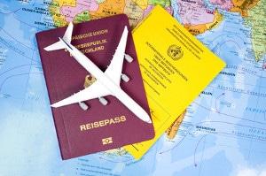 Reisedokumente sollten immer sicher verstaut werden