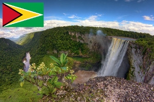 Gebührenfrei Geld abheben in Guyana