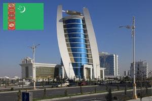 Gebührenfrei Geld abheben in Turkmenistan