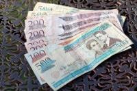 Übersicht Münzen und Banknoten Dominikanische Republik Währung Dominikanischer Peso