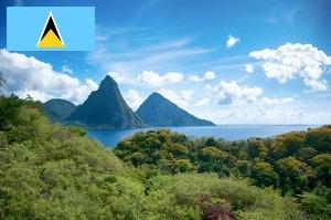 Gebührenfrei Geld abheben aus St. Lucia