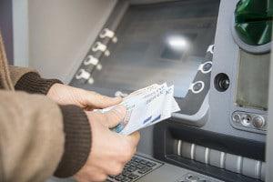 Geld abheben in Deutschland