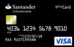 Santander 1 plus Visa Card