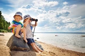 Beim Reisen mit Kindern gibt es einige Punkte zu beachten