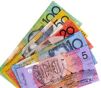Übersicht Münzen und Banknoten Währung Australischer Dollar