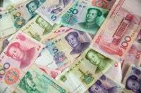 Übersicht Banknoten China Währung Yuan