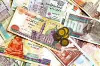 Übersicht Münzen und Banknoten der Ägyptischen Währung Pfund
