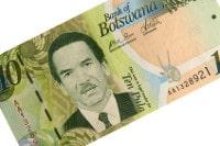 Übersicht Münzen und Banknoten der Währung Botwanischer Pula