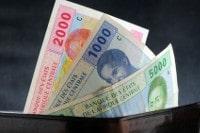Übersicht Münzen und Banknoten der Währung CFA-Franc BEAC in Kamerun