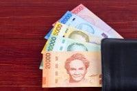 Übersicht Banknoten Costa Rica Landeswährung Colon