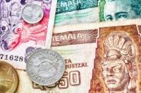 Übersicht Banknoten Guatemala Quetzal