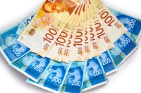 Übersicht Banknoten Israel Schekel