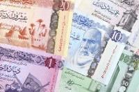 Übersicht Münzen und Banknoten der Libyschen Währung Dinar