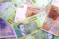 Übersicht Banknoten Marrokanische Dirham Zahlungsmittel Westsahara