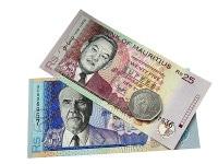 Übersicht Banknoten Mauritius Rupie