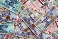 Übersicht Münzen und Banknoten der Währung Namibia-Dollar
