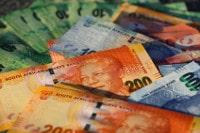Übersicht Münzen und Banknoten der Währung Südafrikanischer Rand