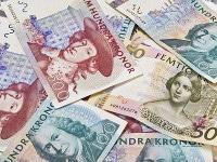 Übersicht Münzen und Banknoten Schwedische Währung Krone