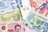 Übersicht Banknoten Tunesien Dinar