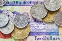 Übersicht Banknoten und Münzen Belize Dollar