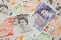 Übersicht Britisches Pfund Sterling Banknoten