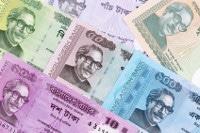 Übersicht Banknoten Bangladesch Währung Taka