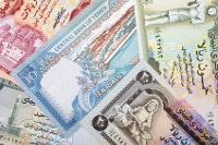 Übersicht Banknoten Jemen Währung Rial