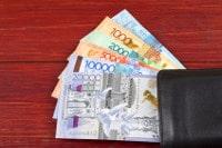 Übersicht Banknoten Kasachstan Währung Tenge
