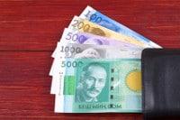 Übersicht Münzen und Banknoten Kirgisistans Währung Som