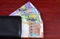 Übersicht Banknoten Kuweit Dinar