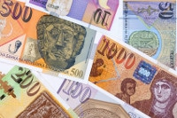Übersicht Banknoten Mazedonien Währung Denar