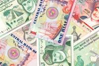 Übersicht Banknoten Oman Währung Rial