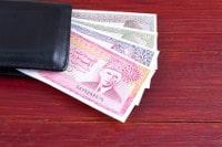 Übersicht Banknoten Pakistan Rupie