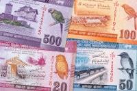 Übersicht Münzen und Banknoten Währung Sri Lanka Rupie