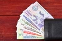 Übersicht Banknoten Usbekistan Som