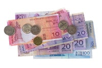 Übersicht Banknoten und Münzen Macau Pataca