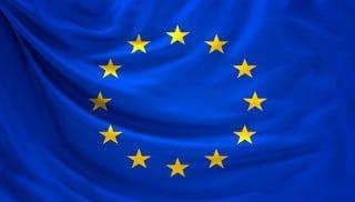 Die Länder Europas stehen für die Sterne auf der offiziellen Flagge von Europa