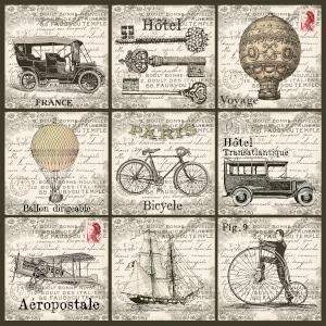 Über die Jahrhunderte hat sich die Art des Reisens in Richtung modernes Reisen entwickelt